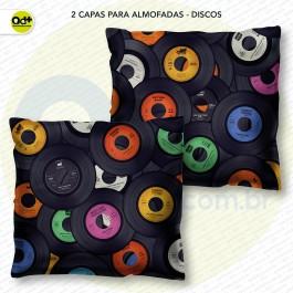 2 Capas para almofadas - Discos