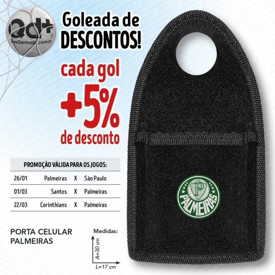 Porta celular Palmeiras