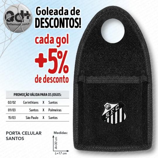Porta celular Santos